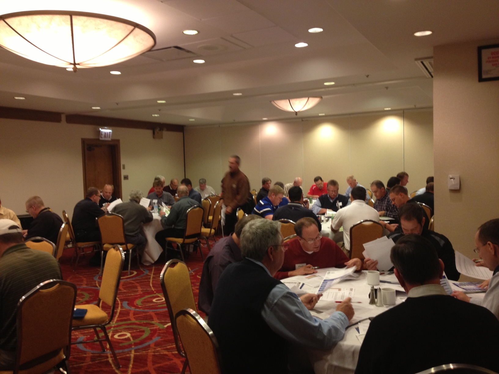 Distributor reps work together to assess soil and water quality reports