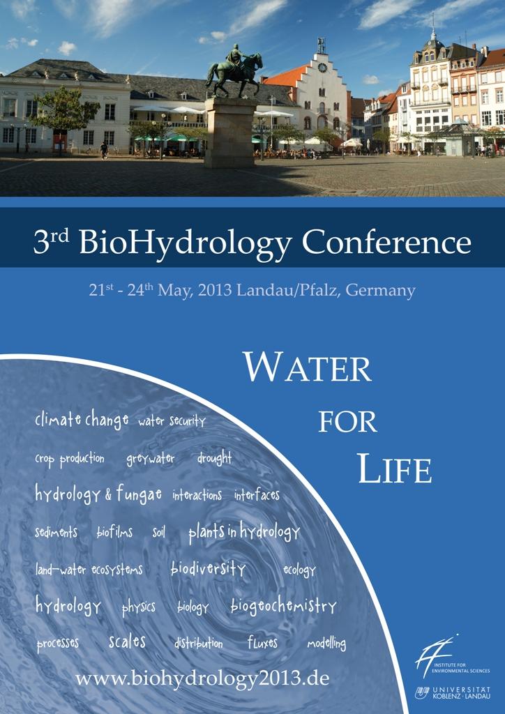 Aquatrols Sponsors the 2013 BioHydrology Conference