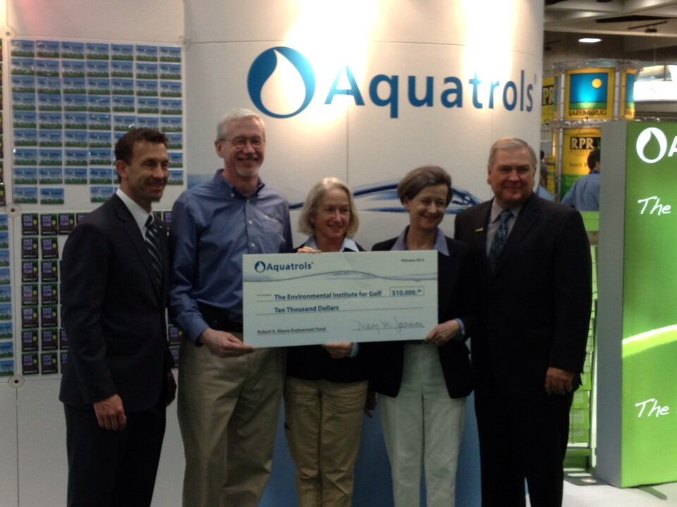 Aquatrols Donates Envrionmental Institute for Golf