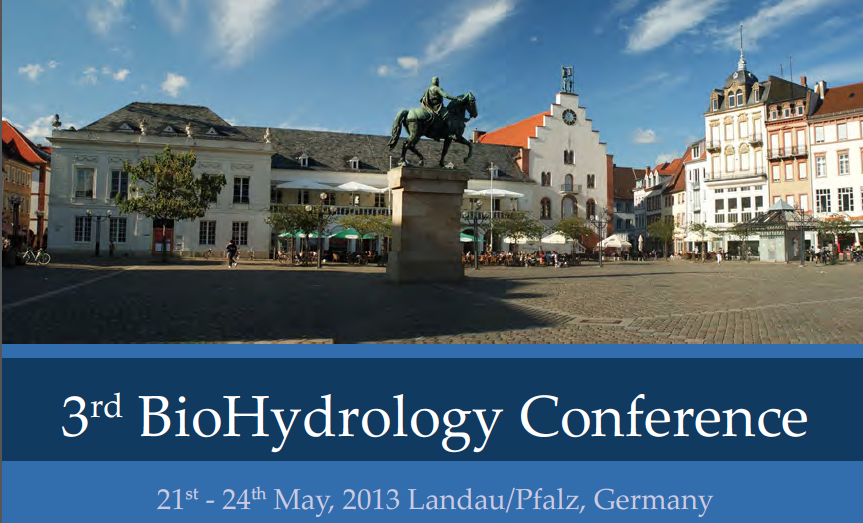 3rd BioHydrology Conference