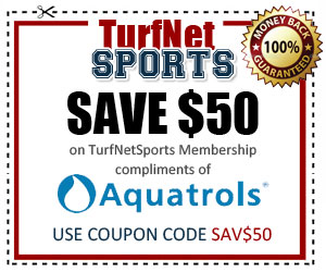 Aquatrols Coupon TurfNet Sports