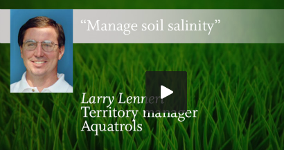 Managing Soil Salinity Issues