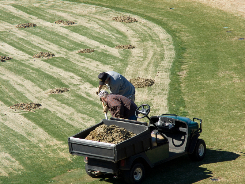 Golf Mainteance Workers