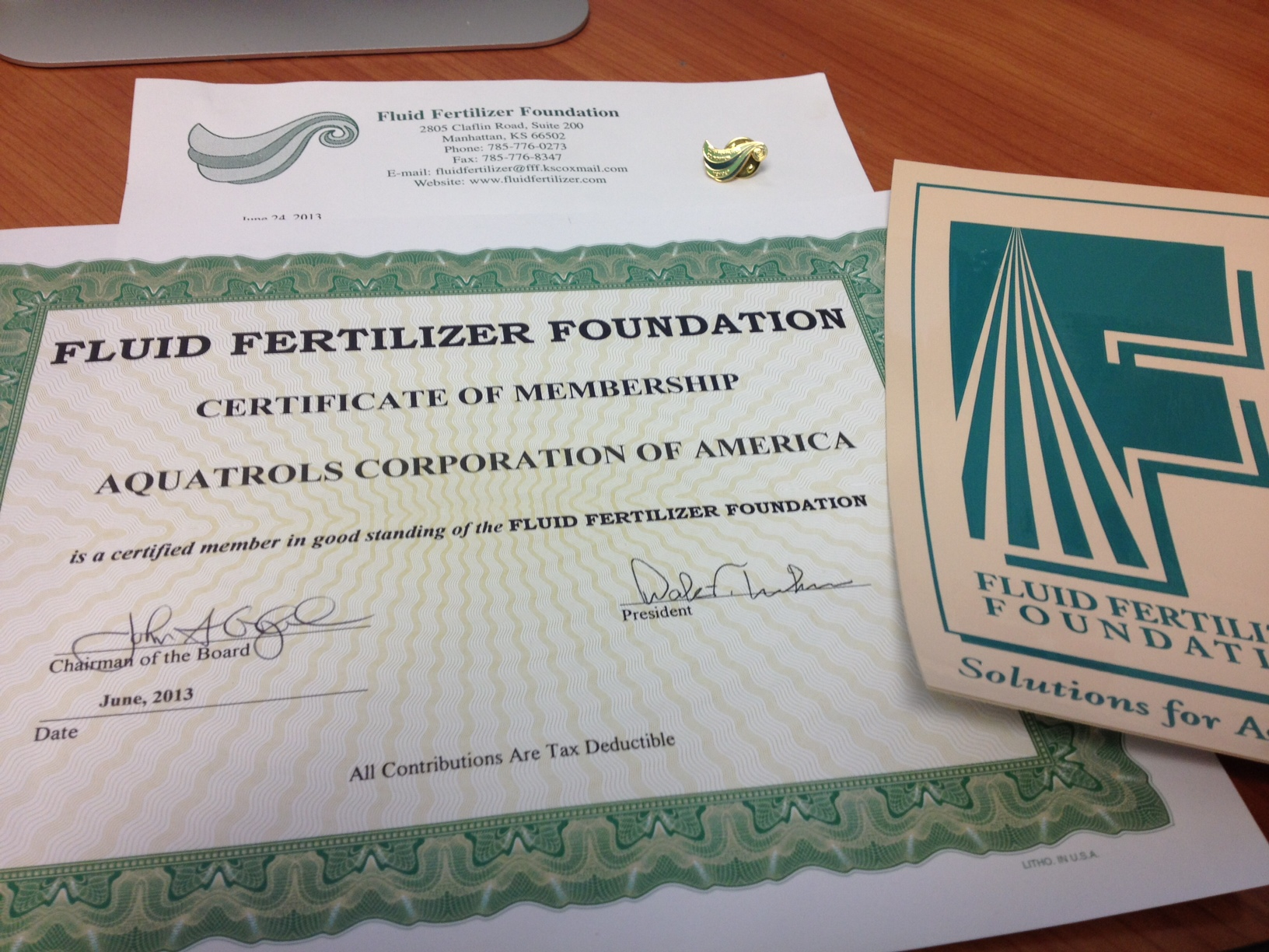 Fluid Fertilizer Foundation