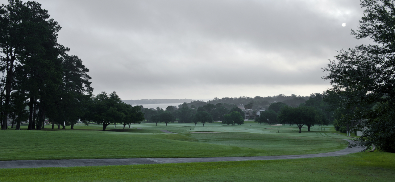 Cloudy Morning on the Golf Course