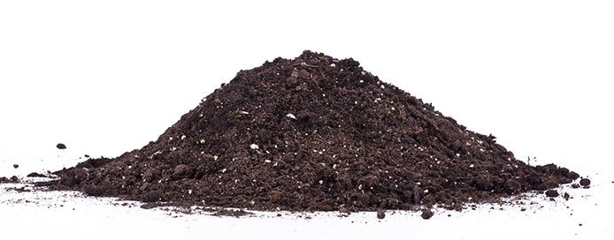Resized Soil Mix